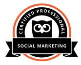 certified social media marketing manager